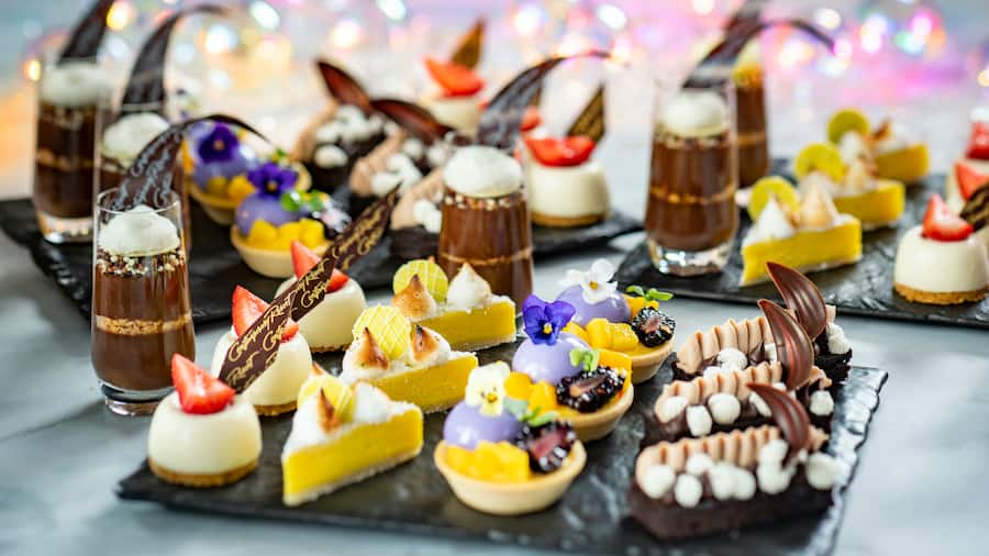 Treats from Celebration at the Top: 50th Flavors and Fireworks at Disney's Contemporary Resort