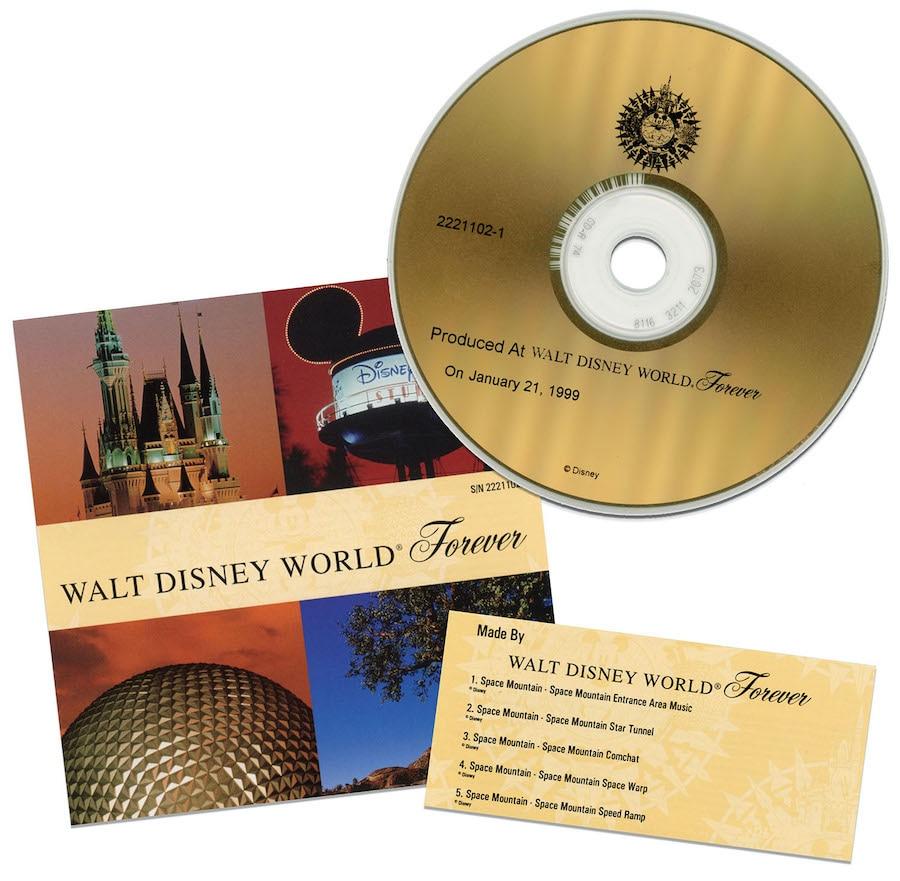 """""""Walt Disney World Forever"""" CD"""
