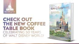 """Coffee table book """"A Portrait of Walt Disney World: 50 Years of The Most Magical Place on Earth"""""""