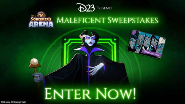 Sorcerer's Arena Maleficent Sweepstakes