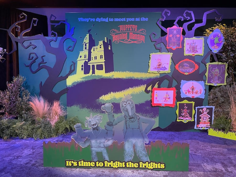 """Exclusive content from """"Muppets Haunted Mansion"""" inside the Main Street Opera House"""