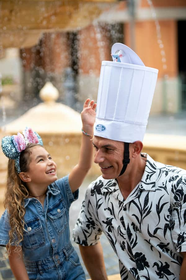 Interactive Chef Hat Inspired by Remy's Ratatouille Adventure