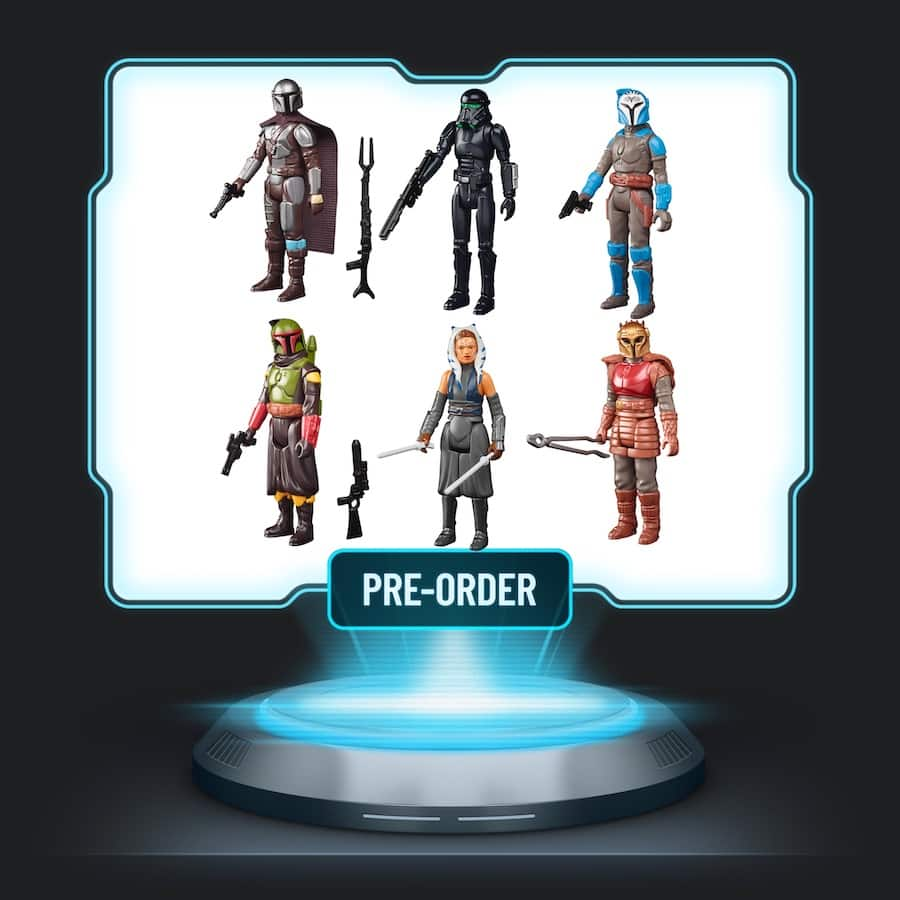 Star Wars Bring Home the Bounty character action figures