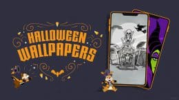 Graphic for Disney Parks Blog Halloween wallpapers
