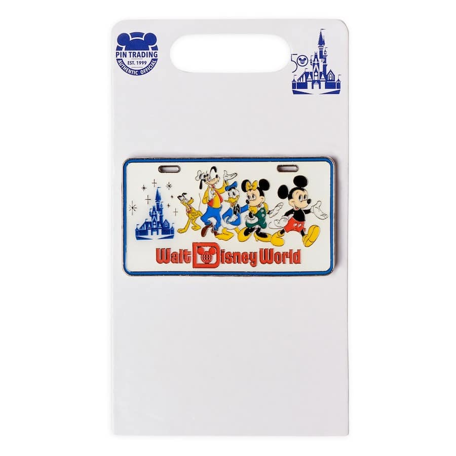 New pin with the Fab 5 at Walt Disney World Resort
