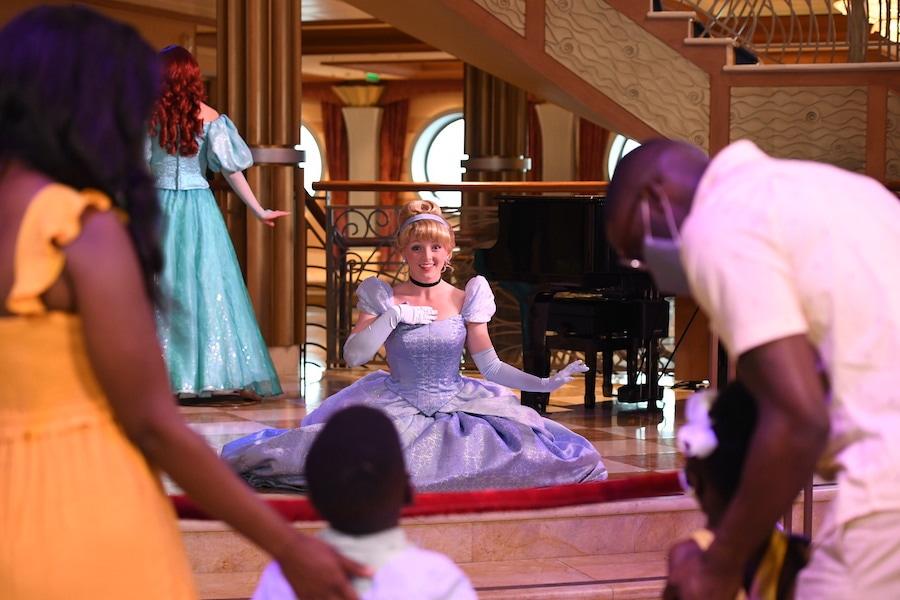 Cinderella on a Disney Cruise Ship