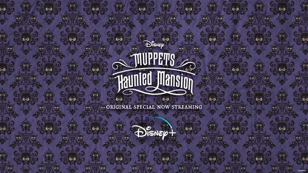 Muppets Haunted Mansion Purple Wallpape