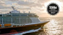 Conde Nast Traveler Readers' Choice Awards 2021 Recognize Disney Cruise Line as the Top Cruise Line-Large Ships