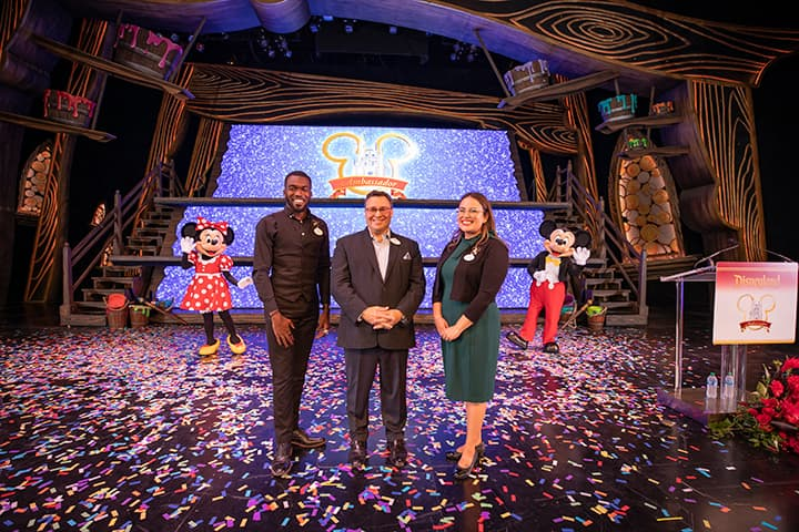 Ken Potrock and the new Disneyland Resort Ambassador Team