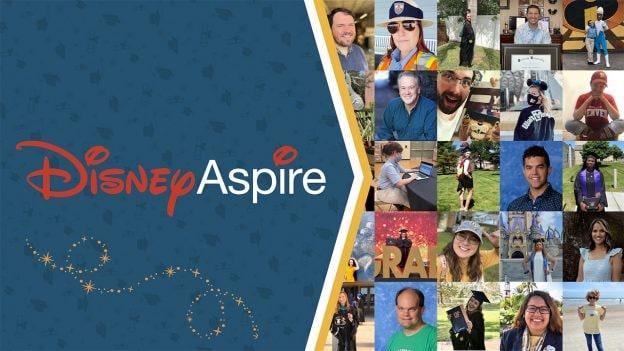 Collage of Disney Aspire graduates