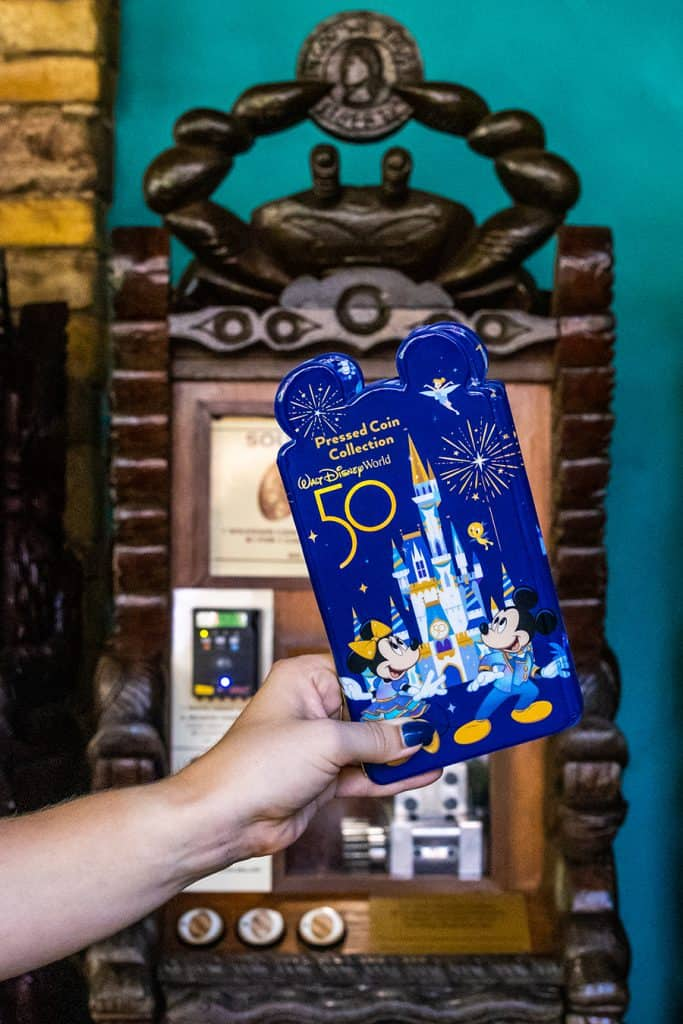 Disney's Animal Kingdom press coin collection to celebrate the 50th Anniversary