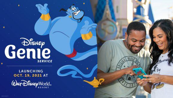Disney Genie Service - Launching Oct. 19, 2021 at Walt Disney World Resort