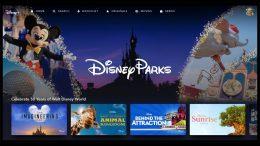 Disney Parks Collection on Disney+