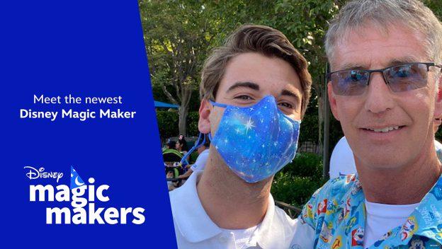 Disneyland cast member Disney Magic Maker