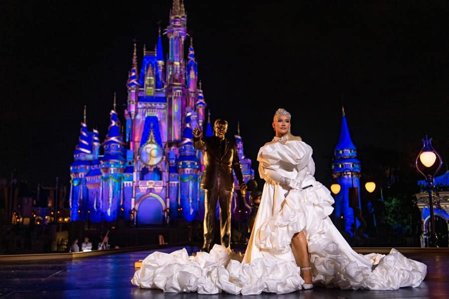 Disney legend Christina Aguilera performs for The Most Magical Story on Earth: 50 Years of Walt Disney World