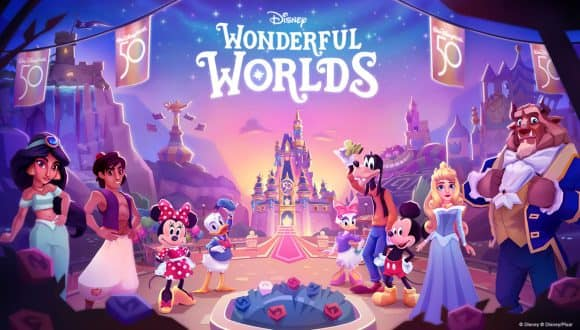 Disney Parks-inspired Mobile Puzzle Game, Disney Wonderful Worlds Available Now!
