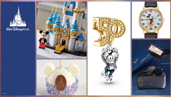 Collage of Images - Walt Disney World Resort 50th Anniversary Must-Haves