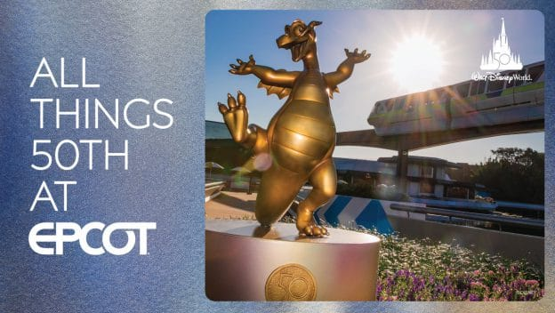 All things 50th at EPCOT