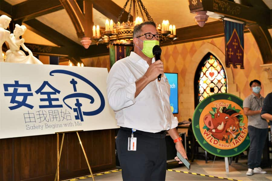 Safety and Wellness Recognition at Hong Kong Disneyland