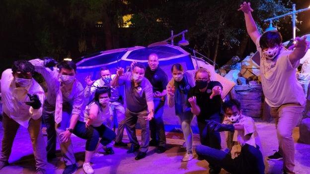 Disneyland Resort Cast Members Celebrate the Halloween Season with a Cast-Exclusive Scare Maze