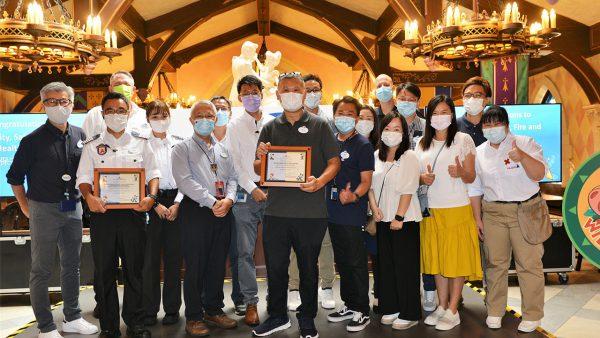 Hong Kong Disneyland realiza evento em prol da segurança e bem-estar