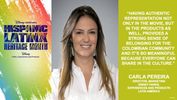 Celebrating #HispanicLatinxHeritageMonth: Carla Pereira Discusses the Authenticity of the Global Encanto Product Collection