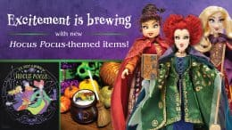 """Merchandise items inspired by """"Hocus Pocus"""""""
