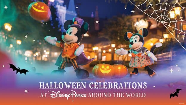Tricks, Treats and Magical Mischief at Disney Parks around the World