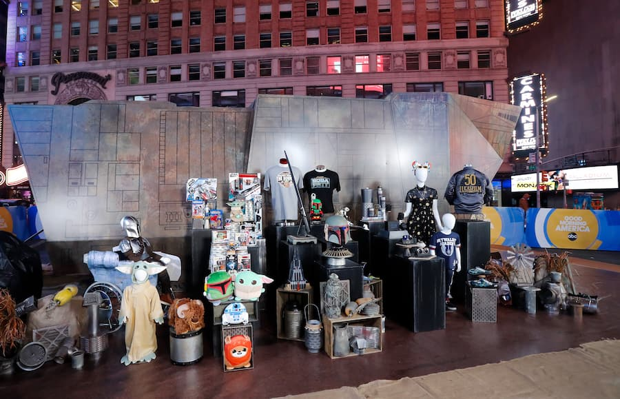 Star Wars: Bring Home the Bounty collection as seen on GMA