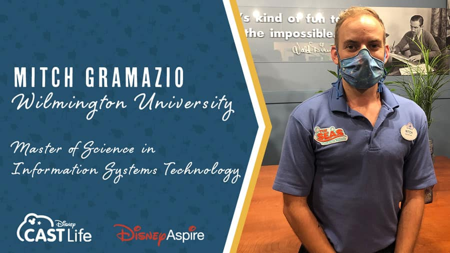 Mitch Gramazio, Disney Aspire