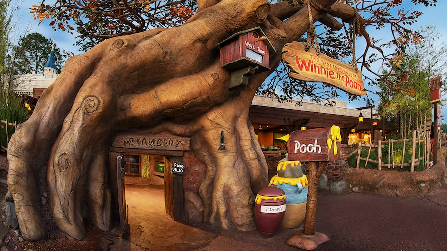 The Many Adventures of Winnie the Pooh attraction at the Walt Disney World Resort