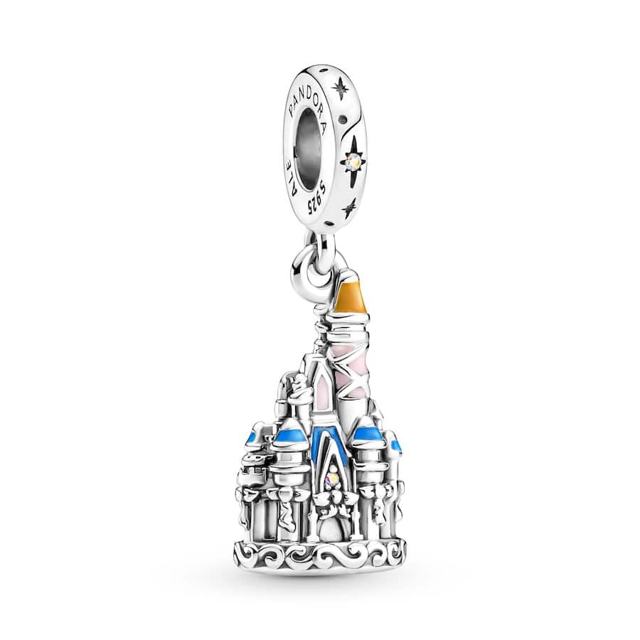 Cinderella's charm from Pandora's 50th anniversary celebration of Walt Disney World