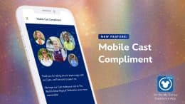 More 50th Magic: Another Way to Share Compliments via My Disney Experience Mobile App