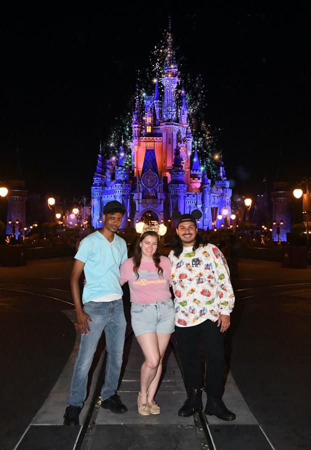 Disney PhotoPass Nighttime Icons Magic Shot at Magic Kingdom Park