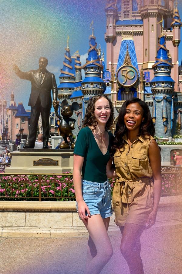 Disney PhotoPass EARidescent Border Magic Shot