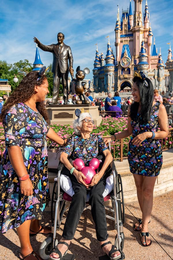 Guests enjoy time at Magic Kingdom Park, Oct. 1, 2021, on the 50th anniversary of Walt Disney World Resort