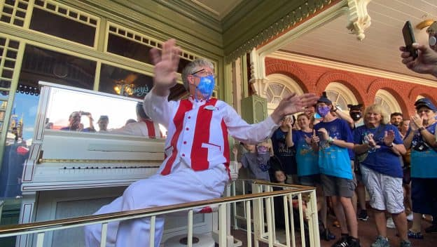 Playing Ragtime Music for 50 Years on Main Street, U.S.A.