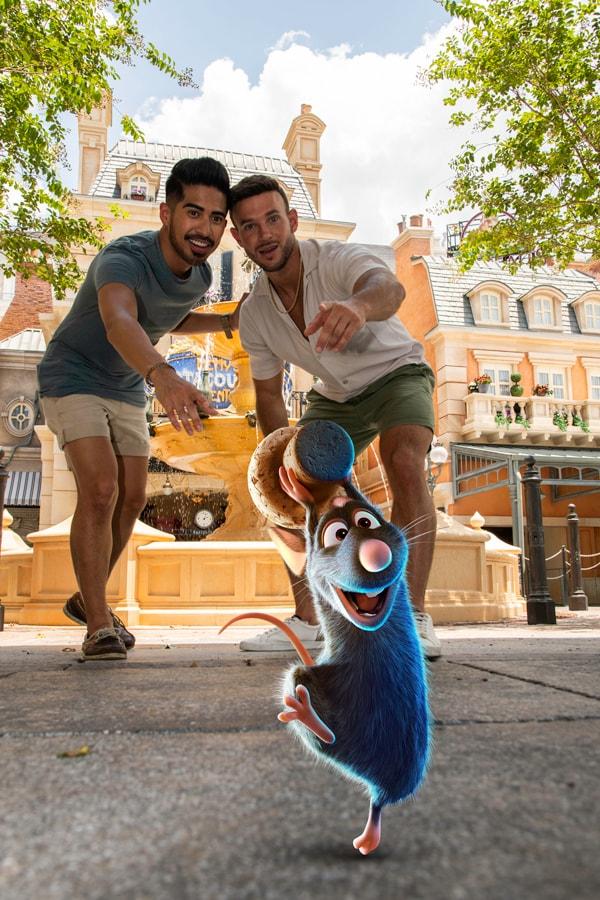 Disney PhotoPass Runaway Remy Magic Shot