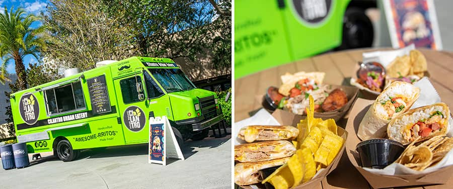 Featured visiting food truck, Cilantro Urban Eatery at Disney Springs celebrates Latin Street Food