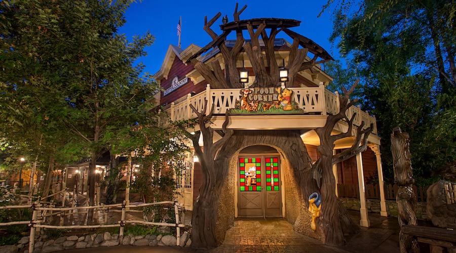Pooh Corner at Disneyland Resort