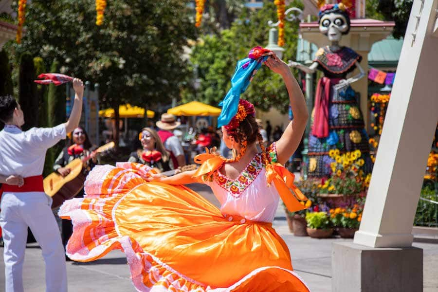 Day of the Dead at Disney California Adventure park