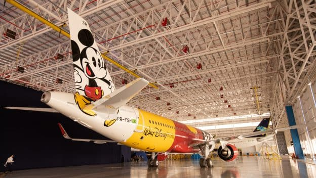 Azul Linhas Aéreas Airbus A320neo plane inspired by Mickey Mouse