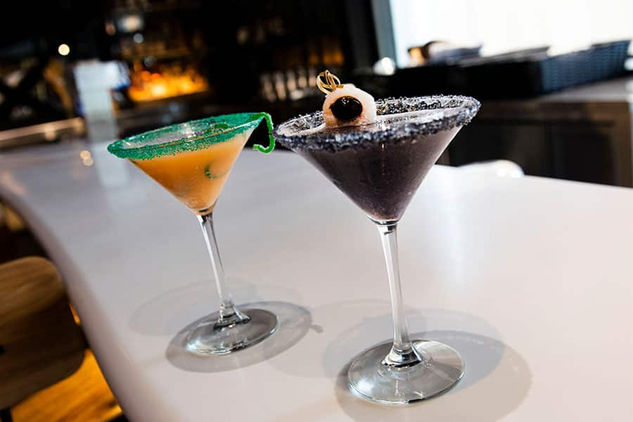 Fall foodie guide Disney Springs 2021 martini cocktails