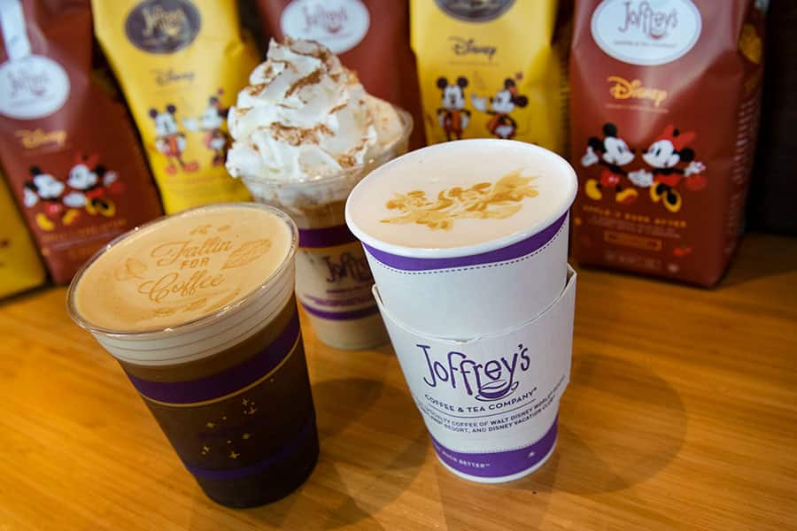 Fall foodie guide Disney Springs 2021 Joffrey's coffee