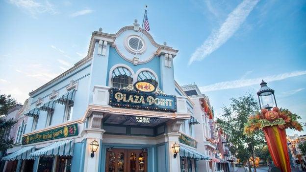 Exterior photo of Plaza Point at Disneyland Park