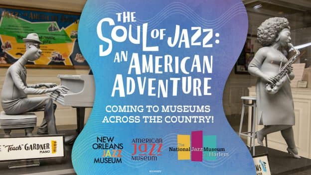 'The Soul of Jazz: An American Adventure' graphic