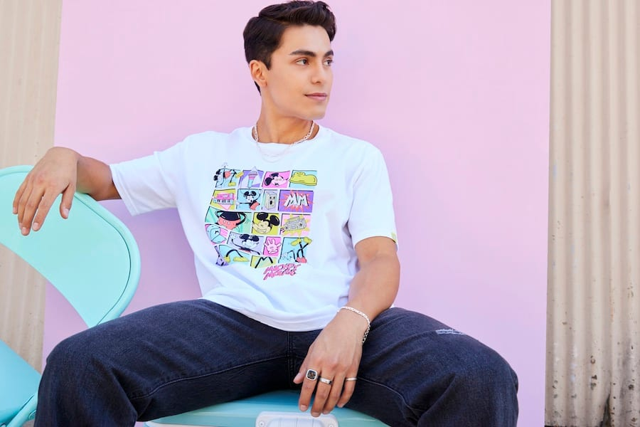 Mickey Mouse T-Shirt for Adults by Rafael Faria