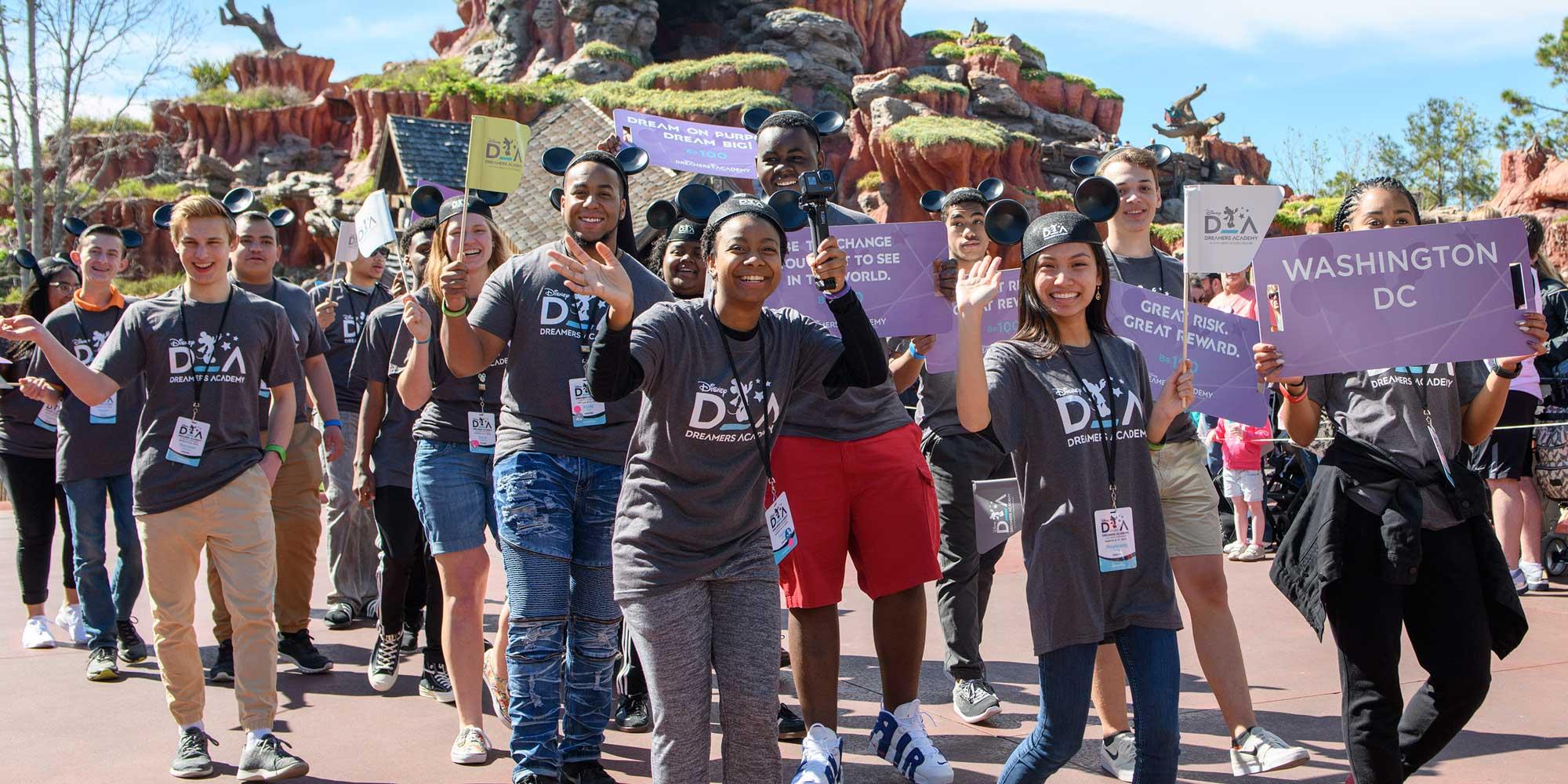 disneys dreamers academy essay contest