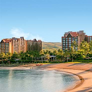View of Disney's Aulani Resort and Spa in Hawaii