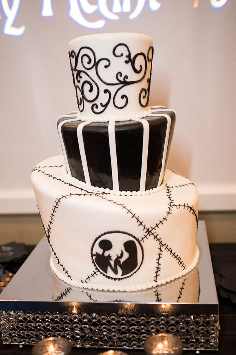 Wedding Cake Wednesday Nightmare Before Christmas Disney Weddings